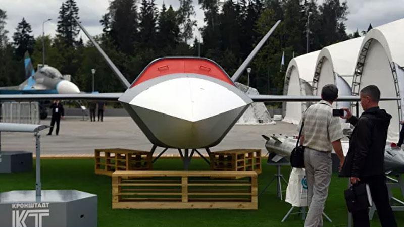 طائرة thunder الروسية (ريا نوفيستا الروسية)