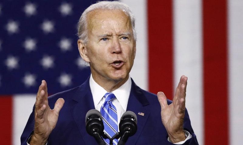 المرشح الديمقراطي لرئاسة أمريكا جو بايدن (ديدلاين)