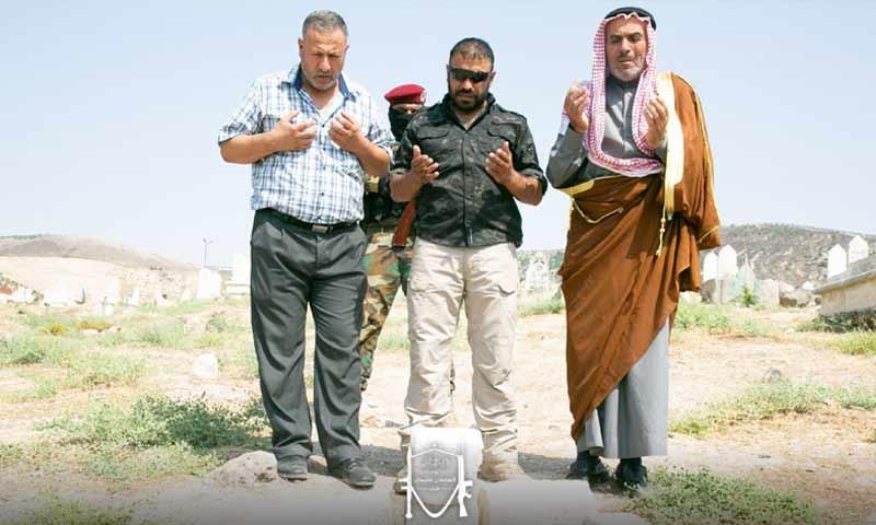 """قائد فرقة """"السلطان سليمان شاه"""" التابعة لـ""""الجيش الوطني""""، محمد حسين الجاسم الملقب بـ""""أبو عمشة"""" (قناة السلطان شاه في تلغرام)"""