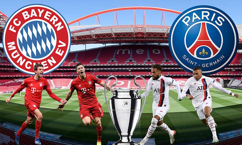 يتنافس كل من باريس سان جيرمان وبايرن ميونيخ على لقب بطولة دوري أبطال أوروبا 2020 (تعديل عنب بلدي)