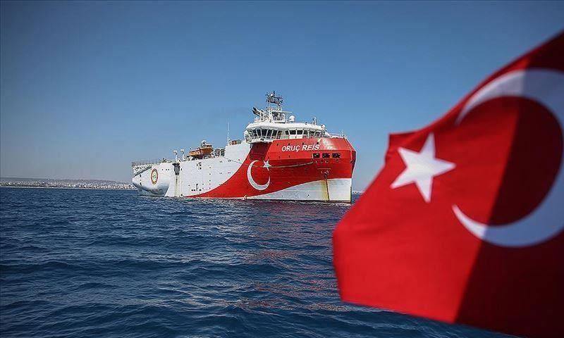 سفينة التنقيب التركية أوروتس رئيس (وكالة الأناضول التركية)