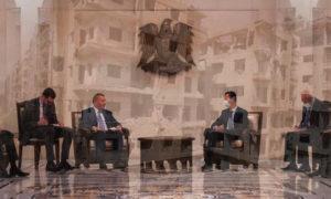 زيارة الوفد الروسي لدمشق _ 7 من أيلول ( تعديل _عنب بلدي)