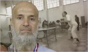 لاعب تنس الطاولة السوري الراحل عامر بركات (تعديل عنب بلدي)