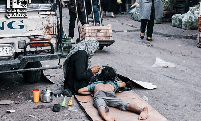 باب سريجة، دمشق، آب 2020 (عدسة شاب دمشقي)