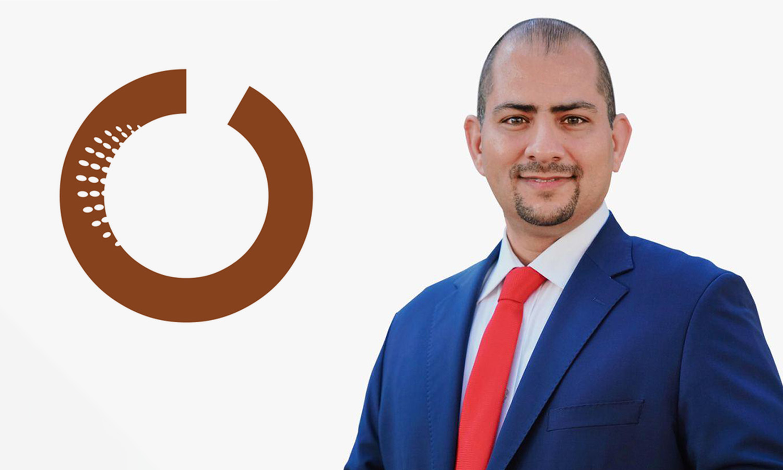 المدير التنفيذي لمركز عمران للدراسات الاستراتيجية عمار القحف (تعديل عنب بلدي)