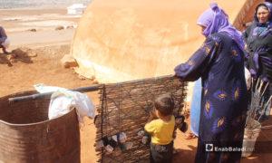 صناعة الحصر (الزرب) تناقلته الأجيال - 28 آب 2020 (عنب بلدي - إياد عبد الجواد )