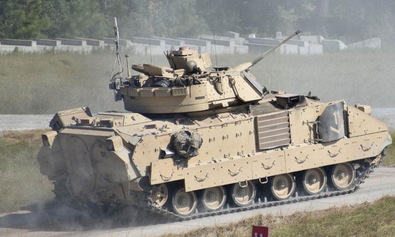 عربة برادلي M2A2 الأمريكية القتالية (Defence Turk)