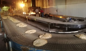 صورة تظهر أعمال صيانة في مخبز درعا 12 من أيلول 2020 (فراس الأحمد/ فيس بوك)