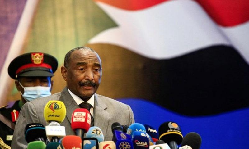 رئيس مجلس السيادة السوداني عبد الفتاح البرهان 26 من أيلول 2020 (وكالة الأنباء السودانية)