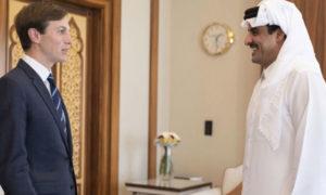 جاريد كوشنر وأمير قطر 2 من أيلول 2020 (الجزيرة)