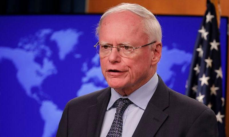 المبعوث الأمريكي إلى سوريا جيمس جيفري (وكالة الأناضول)