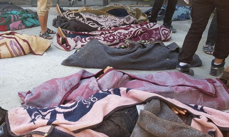 عناصر من فيلق الشام قتلوا بضربة روسية - 26 من تشرين الأول 2020 - (متداول)