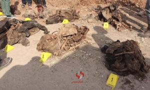 اكتشاف مقبرة في اعزاز، الأربعاء 28 من تشرين الأول( مكتب اعزاز الإعلامي).