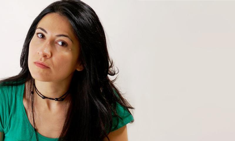ممثلة الائتلاف السوري في الأمم المتحدة مريم جلبي (تعديل عنب بلدي)