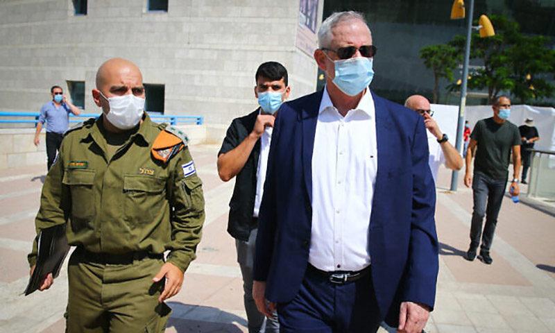 وزير الدفاع الإسرائيلي بيلي غانتس،( flash 90)
