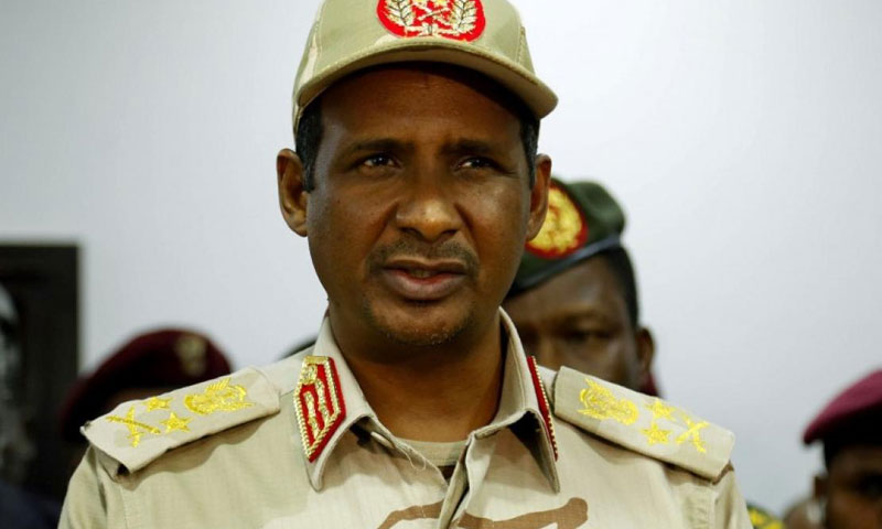 نائب رئيس مجلس السيادة السوداني حميدتي (انتدبندنت عربية)