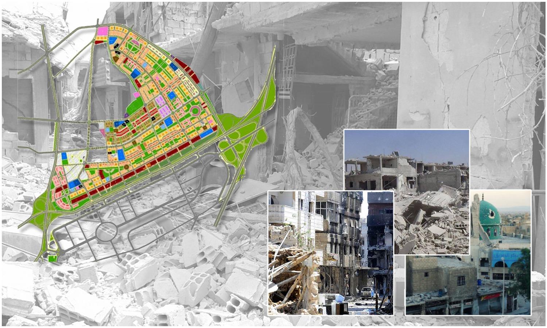 المخطط التنظيمي المقترح لحي القابون بدمشق، تعديل عنب بلدي، 2020.