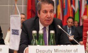 سادات أونال نائب وزير الخارجية التركي - 15 شباط 2020 (OSCE)