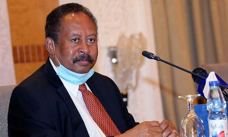 رئيس الحكومة السودانية المؤقتة عبدالله حمدوك 20 من تشرين الأول 2020 (وكالة الأنباء السودانية)