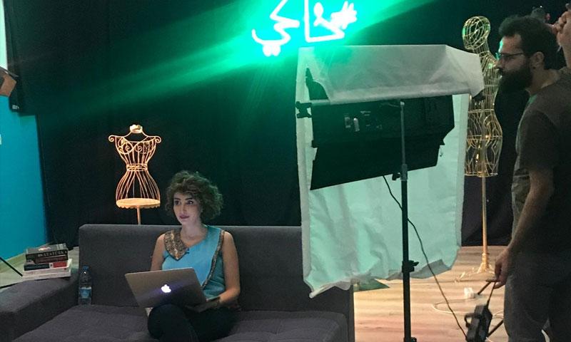 من كواليس تصوير الحلقة الثانية من برنامج خاكي تشرين الأول 2020 (خاص برنامج خاكي)