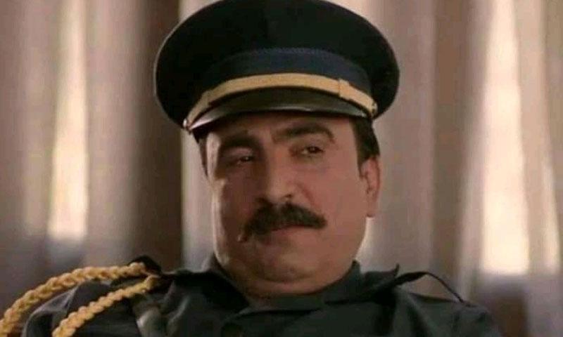 الممثل نبيل حلواني في لقطة من أحد أعماله الفنية (نينار إف إم)