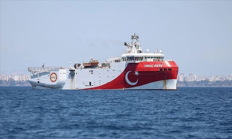 سفينة أوروتش رئيس في البحر الأبيض المتوسط الأناضول)