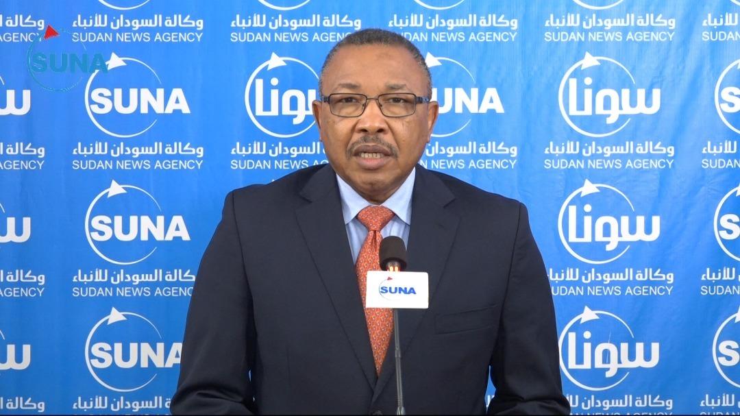 وزير الخارجية السوداني عمر قمر الدين (وكالة الأنباء السودانية)