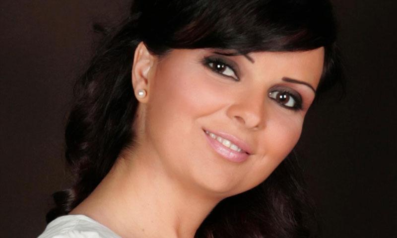 الممثلة السورية رباب كنعان (صفحتها الرسمية في فيس بوك)