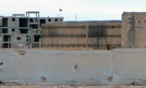 """سجن """"حلب"""" المركزي التابع لحكومة النظام السوري- 6 من شباط 2014 (فرانس برس)"""