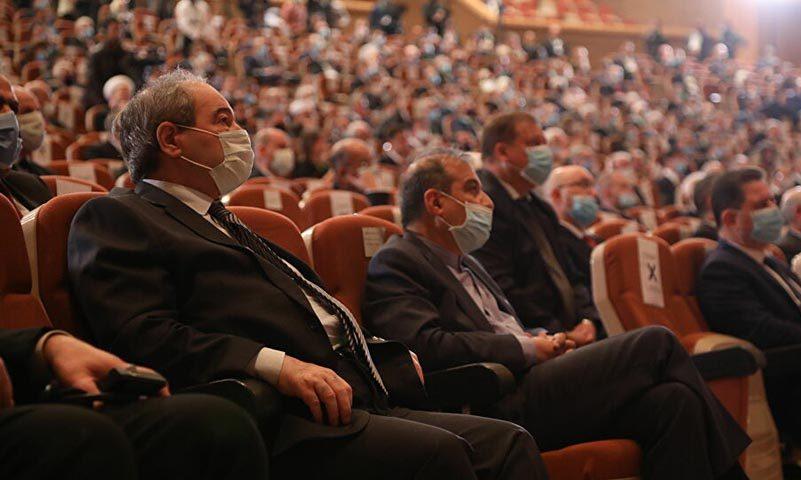 من مؤتمر اللاجئين في العاصمة السورية دمشق، 11 من تشرين الثاني 2020 (سبوتنيك)