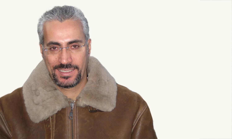 الأمين العام للمجلس السوري للتغيير حسان الأسود (تعديل عنب بلدي)