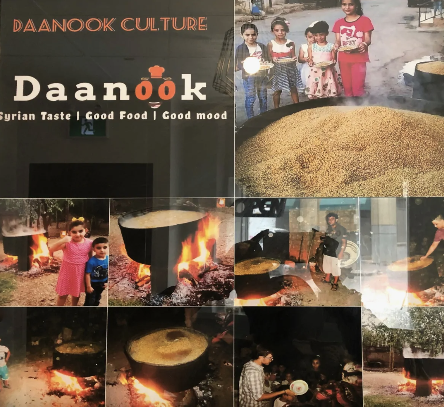 طريقة القمح ومشاركته على الجيران في سوريا والذي استمد المطعم اسمه منها (CBC)