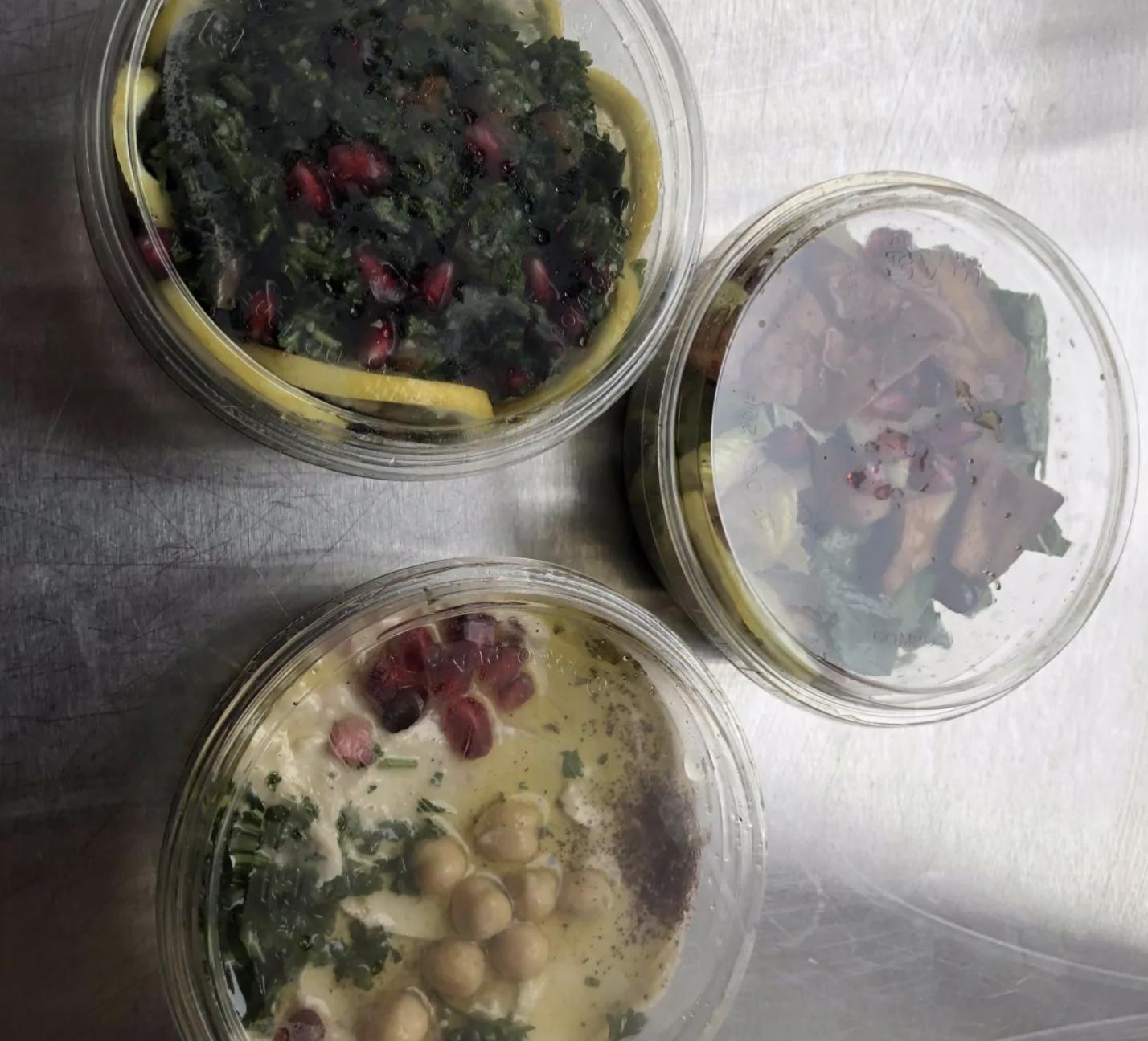 مسبحة على الطريقة السورية من مطعم ضنوك (CBC)