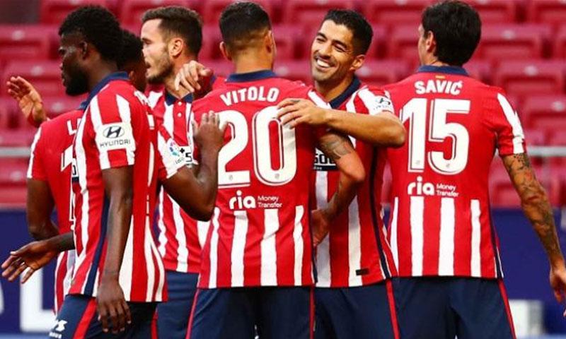 اتليتكو مدريد يتصدر الدوري الإسباني حاليا- 2020