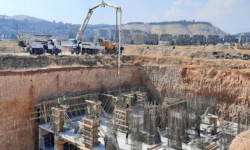 """مشروع """"ماروتا سيتي"""" في دمشق، 4 أيلول 2020 (ماروتا سيتي)"""