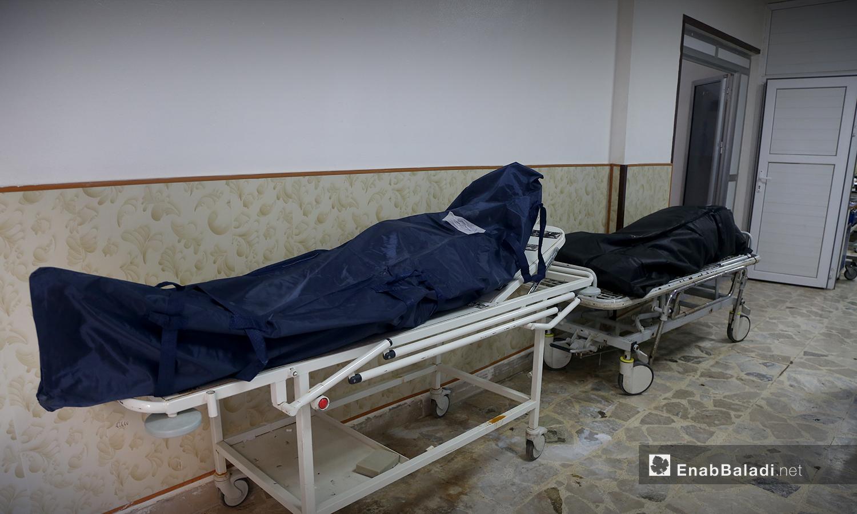 ضحايا فيروس كورونا في إدلب شمالي سوريا - 18 تشرين الأول 2020 (عنب بلدي / يوسف غريبي)