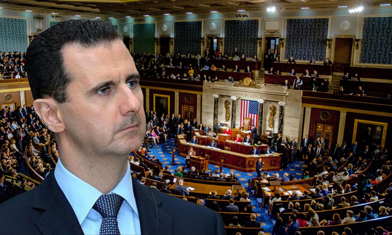 مجلس النواب الأمريكي_رئيس النظام السوري، بشار الأسد (تعديل_عنب بلدي)
