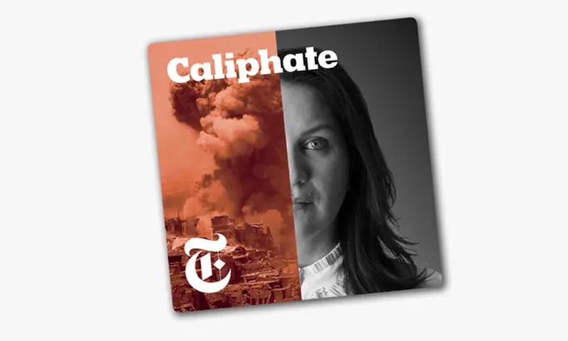 غلاف بودكاست الخلافة (نيويورك تايمز)