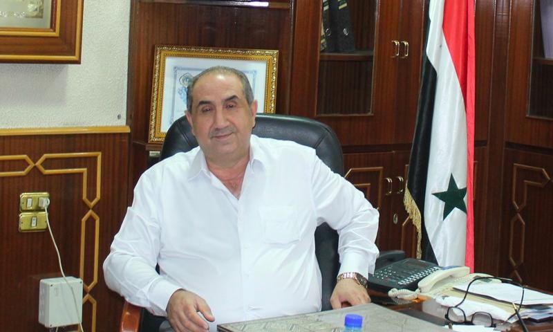 معتز أبو النصر جمران محافظًا جديدًا لريف دمشق - 8 تموز 2020 (المكتب الإعلامي للشركة العامة لأعمال الكهرباء والاتصالات)