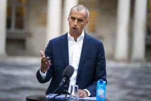 وزير الهجرة الدنماركي، ماتياس تسفاي.