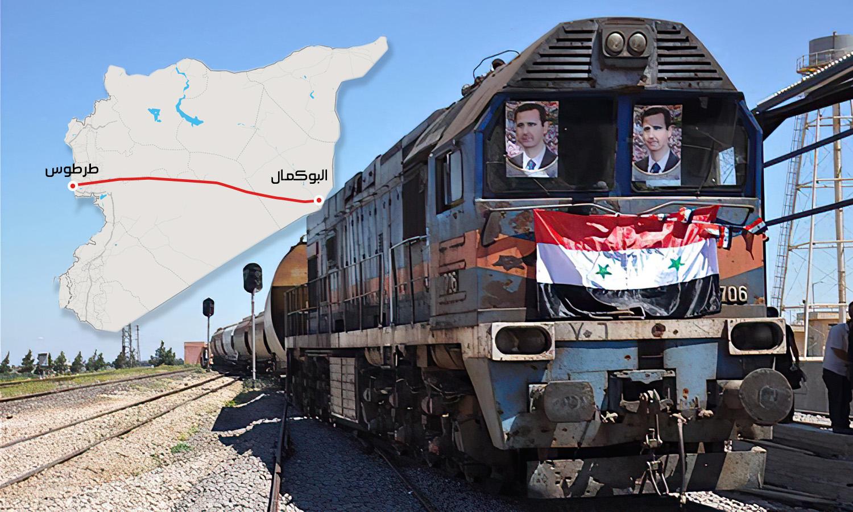مباحثات بين العراق والنظام السوري لإنشاء سكة حديدية