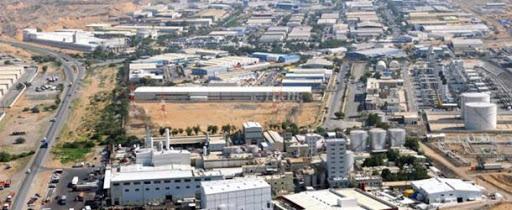 مدينة عدرا الصناعية بريف دمشق، المصدر: جريدة البعث، 2021.