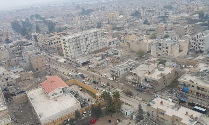 الأحياء الجنوبية الشرقي من مدينة الرقة - 2020 (تقدمة من ناشطين لعنب بلدي)