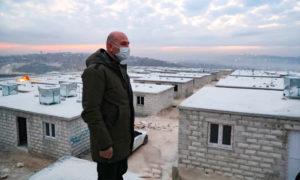 زيارة وزير الداخلية التركي سليمان صويلو إلى إدلب 1 من كانون الثاني 2021 (حساب صويلو في تويتر)