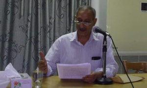 الباحث والمؤرخ في تاريخ الرقة علي السويحة - (مجلس الرقة المدني)