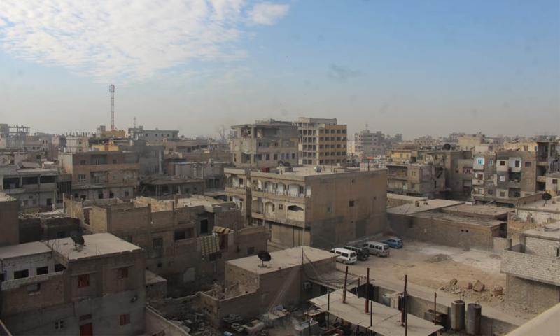 مباني مدينة الرقة - 2020 (تقدمة من ناشطين إلى عنب بلدي)