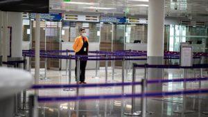 مطار شارل ديغول في العاصمة الفرنسية باريس، يورونيوز، 2021.
