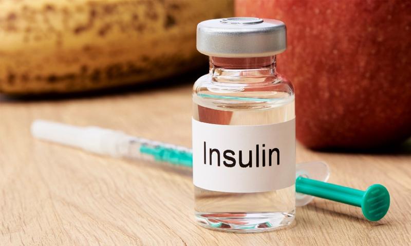 عبوة إنسولين الدواء الخاص بمعالجة مرض السكري - 2019 (صورة تعبيرية/ M.Rode-Foto)