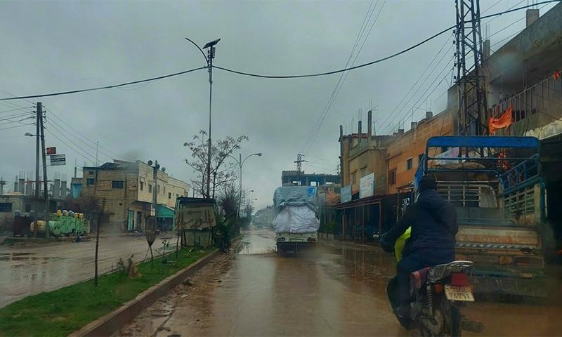 مدينة طفس في ريف درعا الغربي - 19 كانون الثاني 2021 (صفحة طفس الحبيبة على فيسبوك)