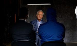 الصحفي سكوت بيلي وقيصر ومعاذ مصطفى، مقابلة في برنامج 60 دقيقة_ 21 من شباط 2021 (CBS NEWS)